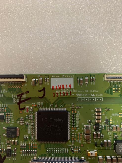 NEC V423 Tcon board 6870C-0461A / 6871L-3319A