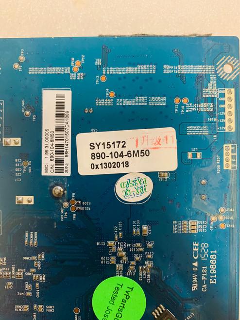Element E4SFC551 FRC board CV6M50L-B / SY15172 / 890-104-6M50 (SERIAL #H5A0M )