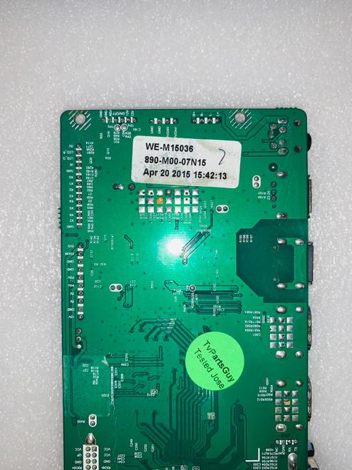 Westinghouse WD60MB2240 Main board ST6308RTU-A1 / WE-M15036 / 890-M00-07N15