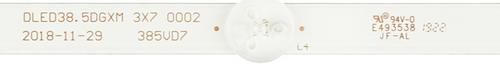 Seiki SC-39HS950N LED Light Strips set of 3 DLED38.5DGXM 3X7 0002