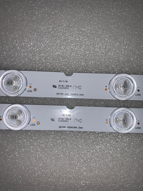 Sony XBR-55X900E LED Light Strips Complete set of 14 55039D715SN1 / SBT55  (version:2)