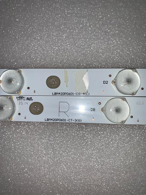 Vizio M422I-B1 LED Light Strips set of 14 LBM420P0601