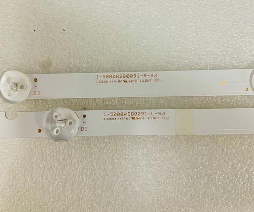 Vizio E50-F2 LED Light Strips set of 10 I-5000WS80091
