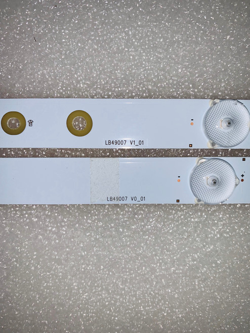 Haier 49E4500R LED Light Strips set of 12 LB49007