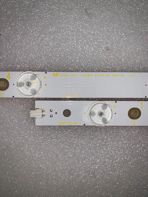 Sharp LC-50LB621U LED Light Strips set of 12 500TT25 & 500TT26