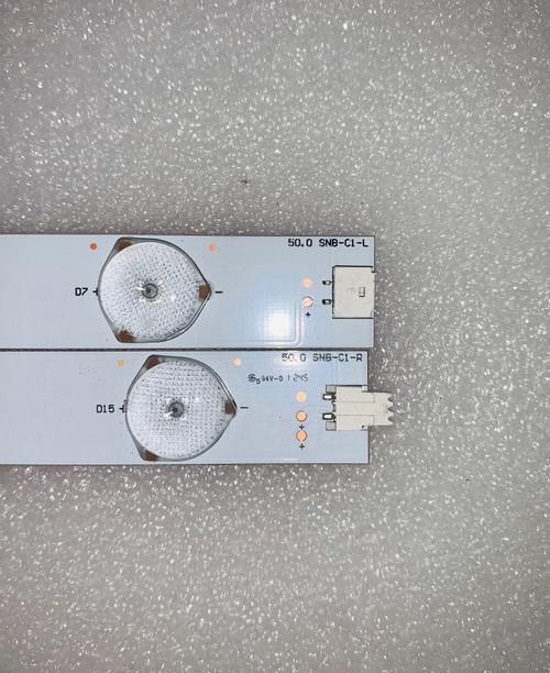 Vizio E500I-A1 LED Light Strips set of 18 50.0 SNB-C1-L & 50.0 SNB-C1-R