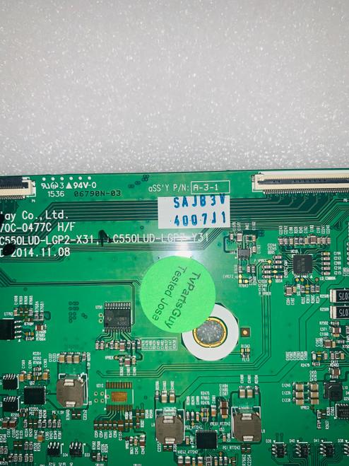 LG 55EG9100 Tcon board 6870C-0477C / 6871L-4007J