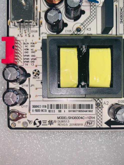 Philips 50PFL4864/F7 Power Supply board SHG6004C-101H / 81-PBE055-H4C13A