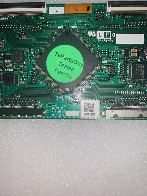 Vizio E600I-B3 TV Repair Kit RUNTK5489TP / 0160CAP03100 / 09-60CAP030-00 / Y8387374S
