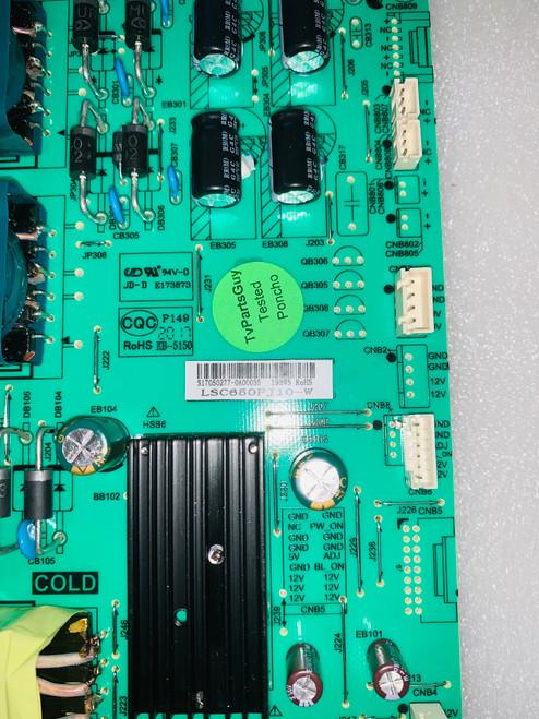 Polaroid 65GSR4100KN Power Supply board P.SWP.198HM.1 / S17050277