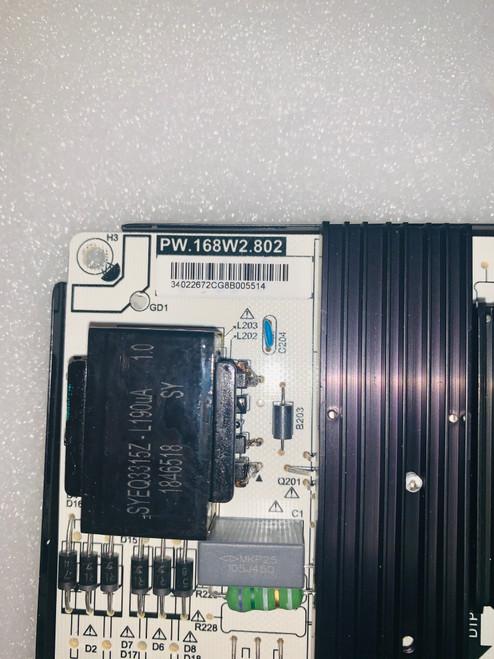 Polaroid 50T7U Power Supply board 34022672
