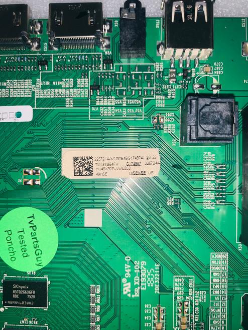 Hisense 49H6E  Main board RSAG7.820.7000/ROH / 225721A