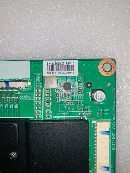 Toshiba 49L621U Main board SBB55T VTV-L55730 / 461C8K21L02