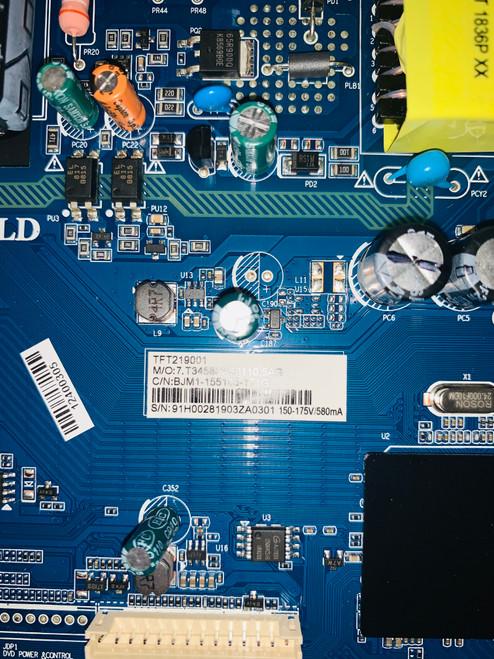 Avgo NN5LU Main board CV3458H-A50 / TFT219001