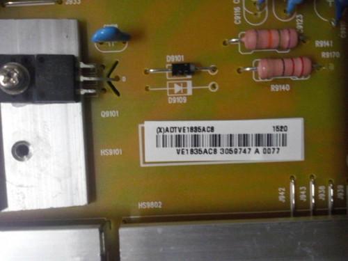 VIZIO M65-C1 POWER SUPPLY ADTVE1835AC8 / 715G6887-P02-001-002S (MXADTVE1835AC8)