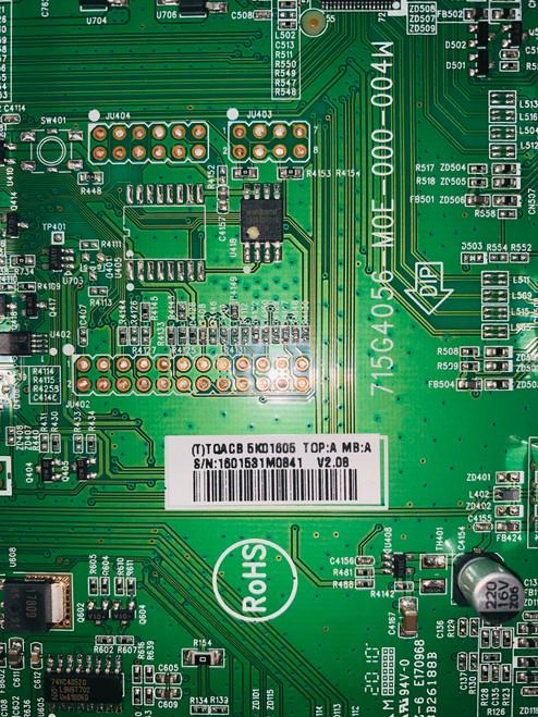 Vizio M320VT Main board 715G4056-M0E-000-004W / CBPFTQACB5K016