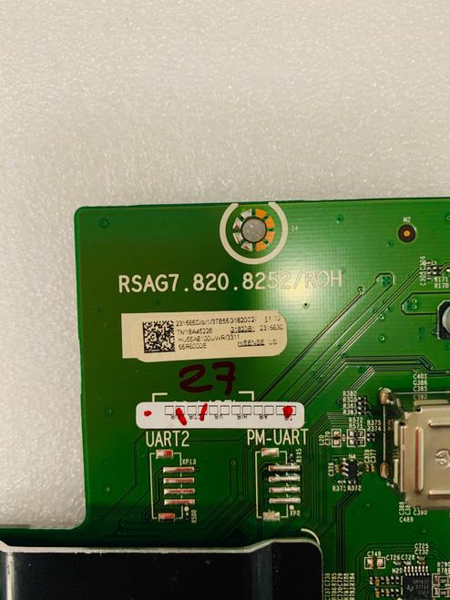 Hisense 55R6000E Main board RSAG7.820.8252/ROH / 231565 / 231563
