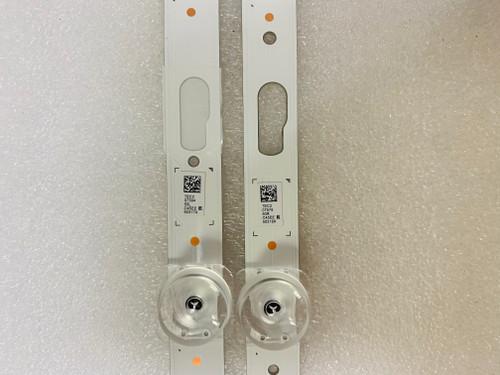 Samsung UN50TU8000F LED Lights set of 6 BN96-50317A & BN96-50318A