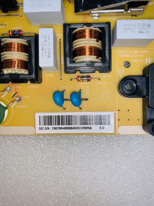 Original Samsung UN43MU6300F Power Supply board & LED Light Strips set of 8 set BN44-00806A / BN96-41220A & BN96-41221A
