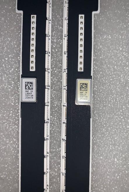 Samsung UN55F7500AF LED Light Strips Bar set of 2 BN96-25447A & BN96-25448A