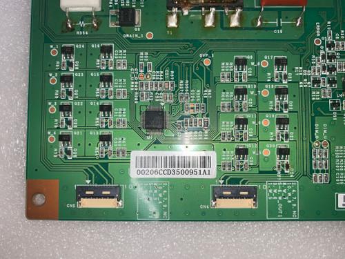 Samsung LH46UDCPLB LED Driver board SSL460_0D4C /  LJ97-00206C