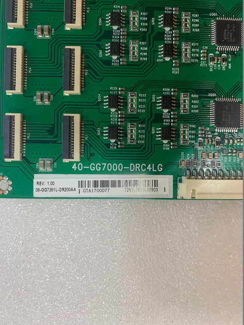 TCL 55P607 LED Driver board  40-GG7000-DRC4LG / 08-GG7261L-DR200AA