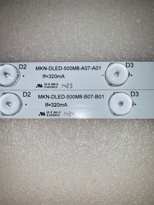 Polaroid 50GSR3000 LED Light Strips set of 10 MKN-DLED-500M8-A07-A01 / MKN-DLED500M8-B07-B01