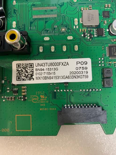 Samsung UN43TU8000F Main board BN41-02756A / BN97-16662X / BN94-15313G