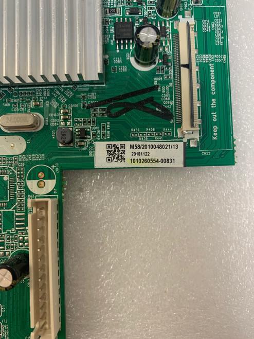 Hitachi 58C61 Main board & Tcon board set MS34580-ZC01-01 / 1010260554 & CCPD-TC575-001 V1.0 / STCON575C0011