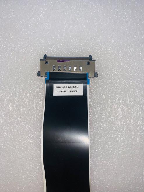 Vizio E600I-B3 Tcon to Main board E600I-B3 51P LVDS Cable
