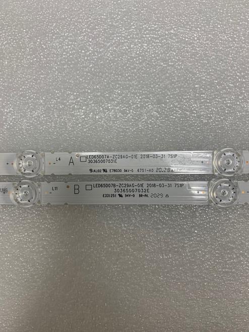 Westinghouse WR65UX4019 LED Light Strips set of 12 30365007031E & 30365007032E