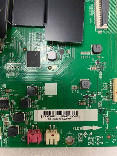 Hitachi 55R82 Main board 40-MST10B-MAA2HG / M8-1MSTA05-MA200AA