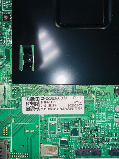 Samsung QN65Q6DRAF FA01 Main board with Wifi Module BN41-02695A / BN97-15525J / BN94-14136T & BN59-01314A