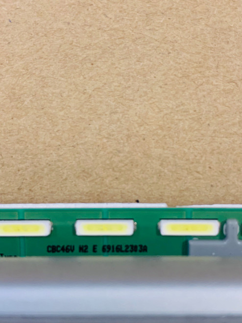 LG 49SL5B-BE LED light strip set of 2 in metal casing 6916L-2303A & 6916L-2304A