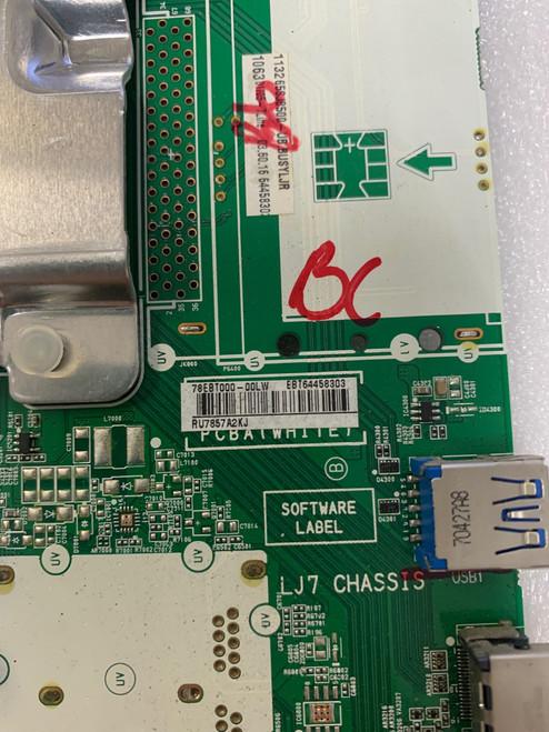 LG 65SJ8500-UB Main board EAX67032905 / EBT64458303