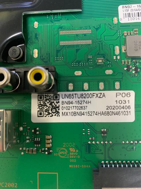Samsung UN65TU8200F BA02 Main board BN41-02756A  / BN97-16662X / BN94-15274H