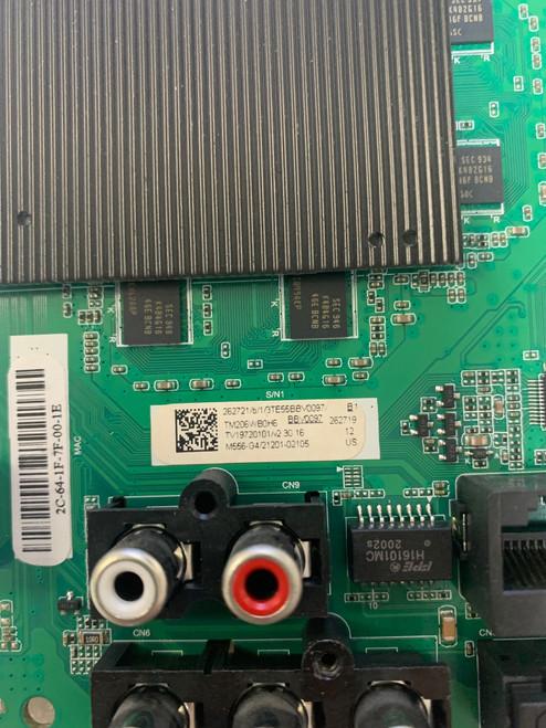 Vizio M556-G4 (S:LBPFQNBW) Main board T.MT5597.U768 / 21201-02105