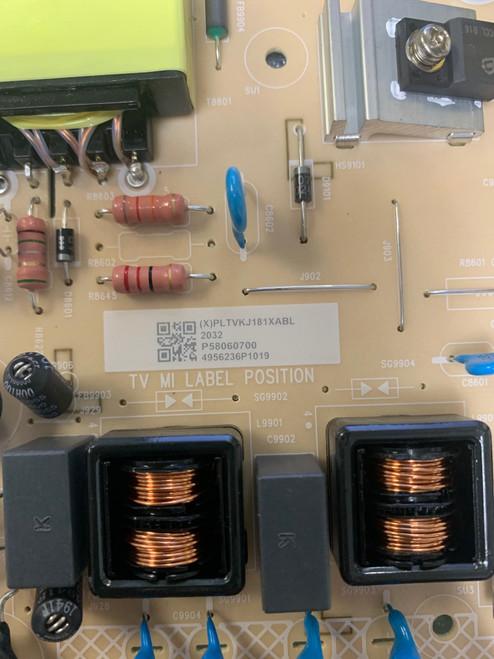 Vizio V585X-H1  Power Supply board 715G9165-P01-002-003M / PLTVKJ181XABL
