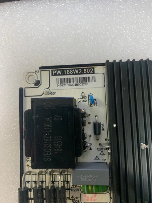 Polaroid 55T7U Power Supply board PW.168W2.802 / 34022130