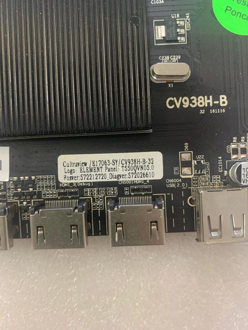 Element EL4KAMZ5517 Main board CV938H-B / E17063-SY