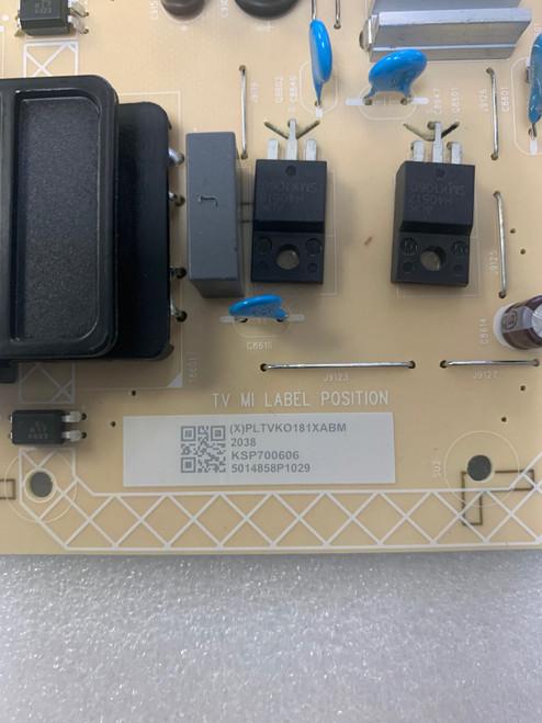 Vizio V705X-H1 Power Supply board 715GA860-P02-000-003S / PLTVKO181XABM