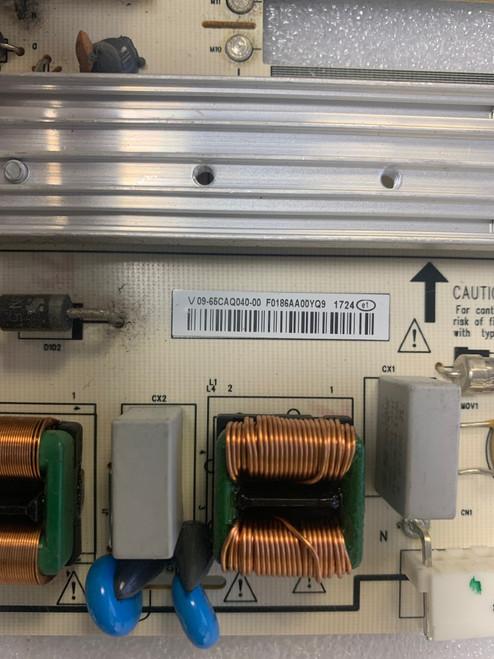 Vizio E65-E3 Power Supply board 1P-1171X00-1013 / 09-65CAQ040-00
