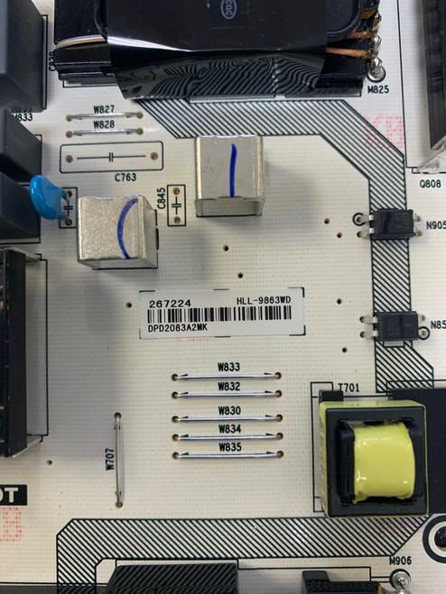 Hisense 75R6E3 Power Supply board RSAG7.820.9863/R0H / 267224