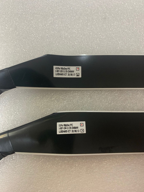 Sony XBR-85X900H FFC Cable 1-007-193-11 & 1-007-194-11