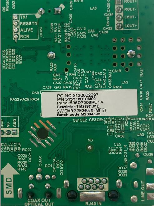 ONN 100012588 Main board T.MS1801.81 / M20043-MT