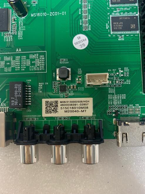 ONN 100012588 Main board MS16010-ZC01-01 / M20040-MT / 515C16010M08