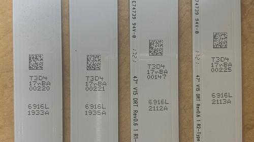 LG 6916-1933A/1935A/2112A/2113A LED Strips - 16 Strips