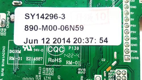 Element  Main board ELEFW605 / T.MS3393.81 / B14060041  / 890-M00-06N59