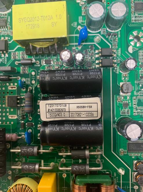 Sceptre X505BV-FSR Main Board T.MS3553.PC752 / T201708016B (No Tuner)