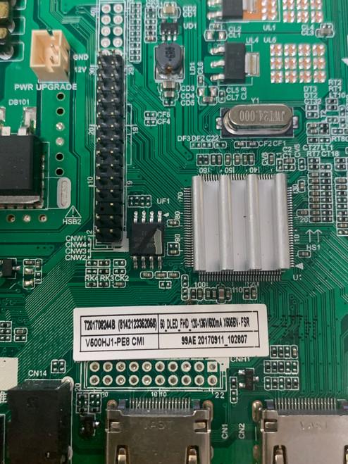 Sceptre X505BV-FSR Main Board T.MS3553.PC752 / T201708244B (No Tuner)